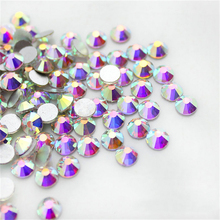 1440pcs/lot ss3~ss30 Flatback rhinestones glass applique strass crystal for DIY Manicure Hot-Fix needlework clothes accessories