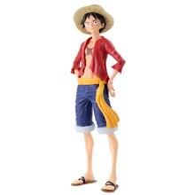 27cm Grandista une pièce singe D Luffy Figure jouet Grandline hommes Luffy Anime collection modèle poupées