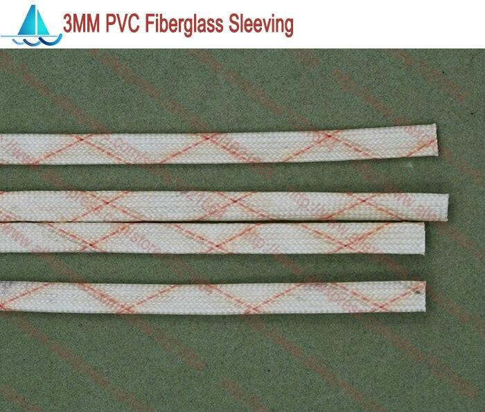 Gastfreundlich 10 Mt/los Durchmesser 3,0mm Pvc Fiberglas Sleeving Isolierung Sleeving Attraktive Designs; Elektronische Zubehör & Supplies Dämmstoffe & Elemente