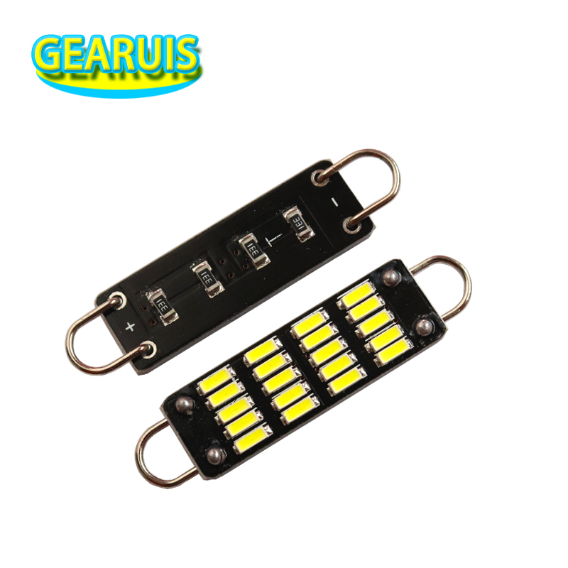 100pcs 211 2 211 212 212 2 561 562 Led Festoon Light 44mm 20 smd 4014