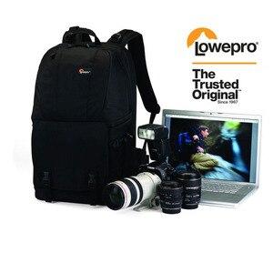 """Image 1 - Mochila Digital Lowepro Fastpack 350 para cámara réflex Digital, 15,4 """", con cubierta para todo tipo de clima, venta al por mayor"""