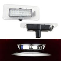 18SMD No Error Car Styling Led License Plate Light Tail Lamp 2x For Hyundai Avante Elantra