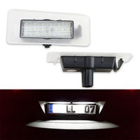 18SMD No Error Car Styling Led License Plate Light Tail Lamp 2x For Hyundai Avante Elantra