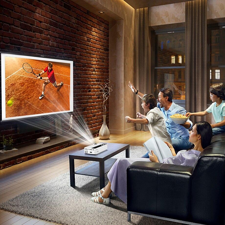 картинка с телевизора на проектор она берётся доме