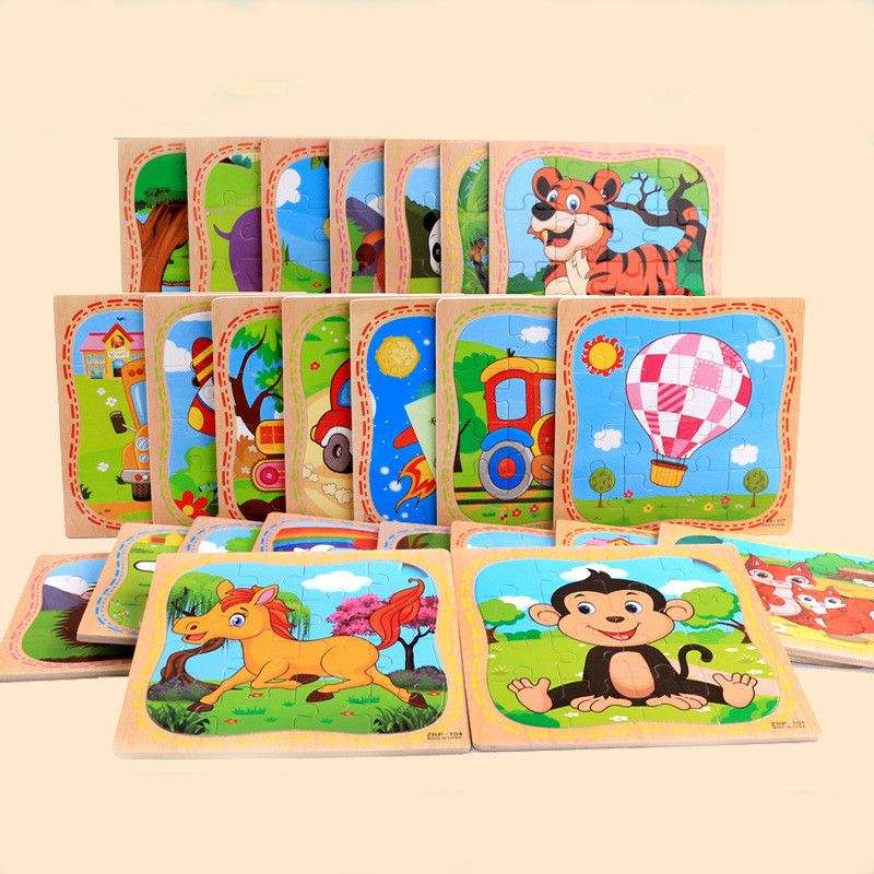 High Quality Wooden Jigsaw Toys For Children Education And