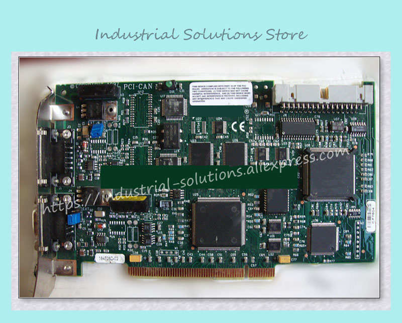 Industrial motherboard PCI-CAN card tested good working perfect sbc8252 long industrial motherboard cpu card p3 long tested good working perfec
