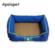 Waterproof Pet Bed Blue Green Sweety Dog House Moistureproof Keep Clean Pets Bed Home Dog House For Dog Cats