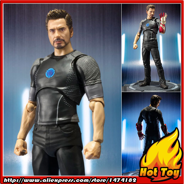 100% Original BANDAI Tamashii Nations S.H.Figuarts (SHF) Action Figure - Tony Stark from Iron Man 100% original bandai tamashii nations s h figuarts shf action figure spider man homecoming