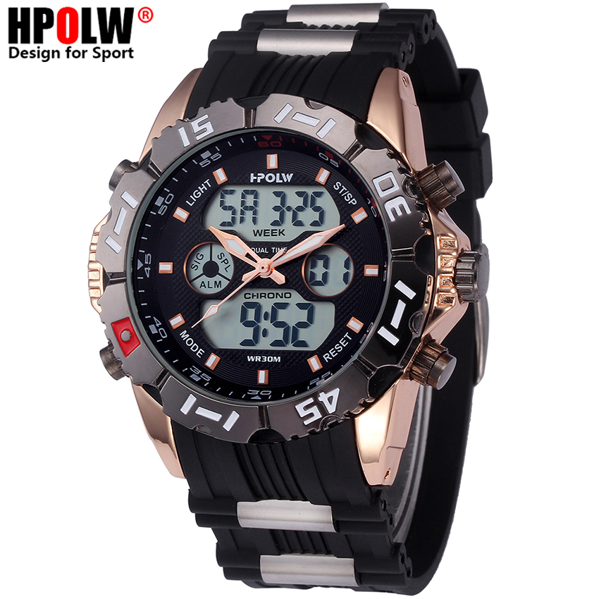 Top Brand Luxury Mens Watches Digital LED G Fashion Waterproof Alarm Sport Watch Men Shock Clock watch Relogio Masculino 2016 brand o t s fashion outdoor sport waterproof led mens clock digital