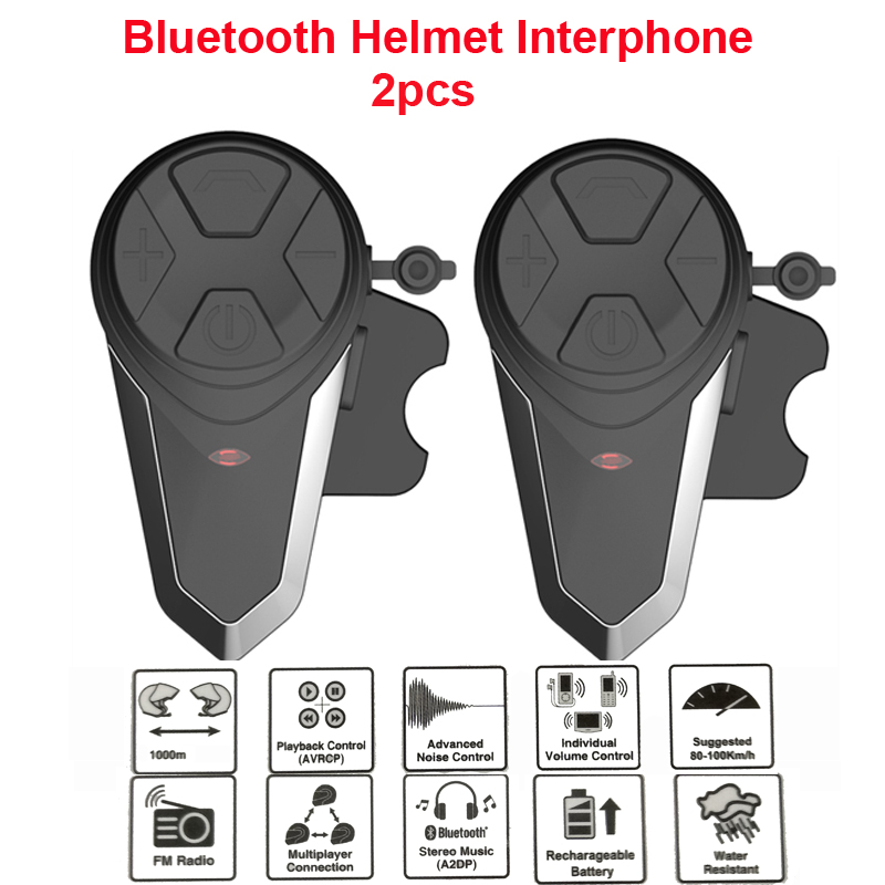 1000M BT-S3 Helmet Intercom Headset Motorcycle Bluetooth Interphone Handsfree FM Radio Waterproof BT Intercom 5 languages Manual 1pc bt s3 dc5v 500ma helmet headsets motorcycle intercom wireless bluetooth interphone handsfree waterproof fm radio
