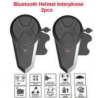 1000M BT-S3 Helm Intercom Headset Motorrad Bluetooth Sprech Freisprechen FM Radio Wasserdichte BT Intercom 5 sprachen Manuelle