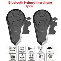 1000M BT S3 Helmet Intercom Headset Motorcycle Bluetooth Interphone Handsfree FM Radio Waterproof BT Intercom 5 languages Manual