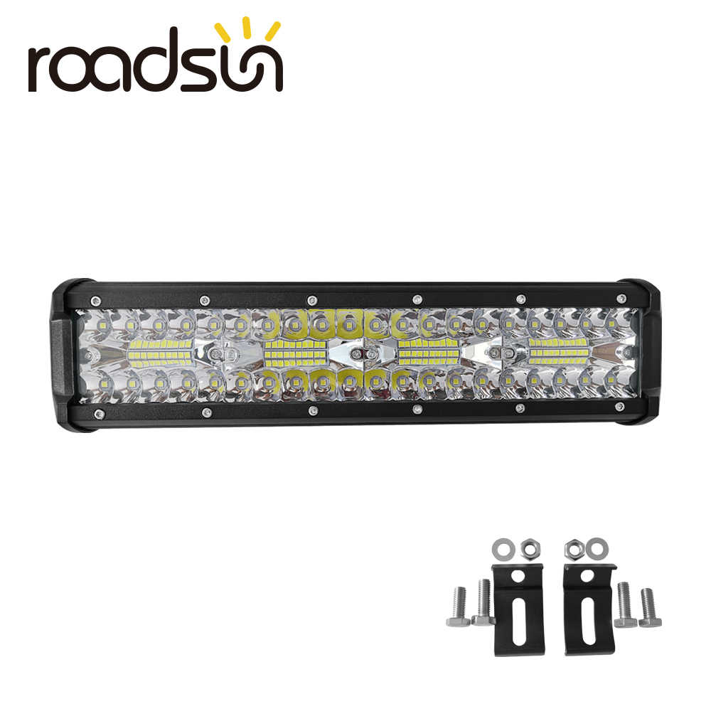 roadsun 12 inch 240W LED Work Light Bar Work Light For Driving Offroad Boat Car Tractor Truck 4x4 SUV ATV Combo Beam