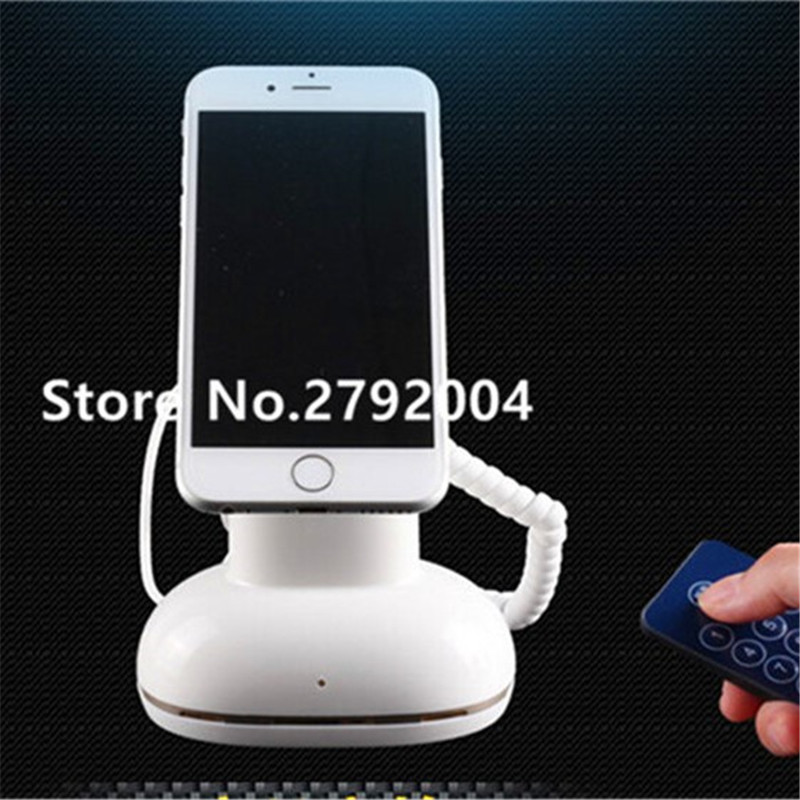 Display alarm system security device mobile & tablet anti-theft holder stand hzsecurity electromagnetic system em library anti theft system one aisle