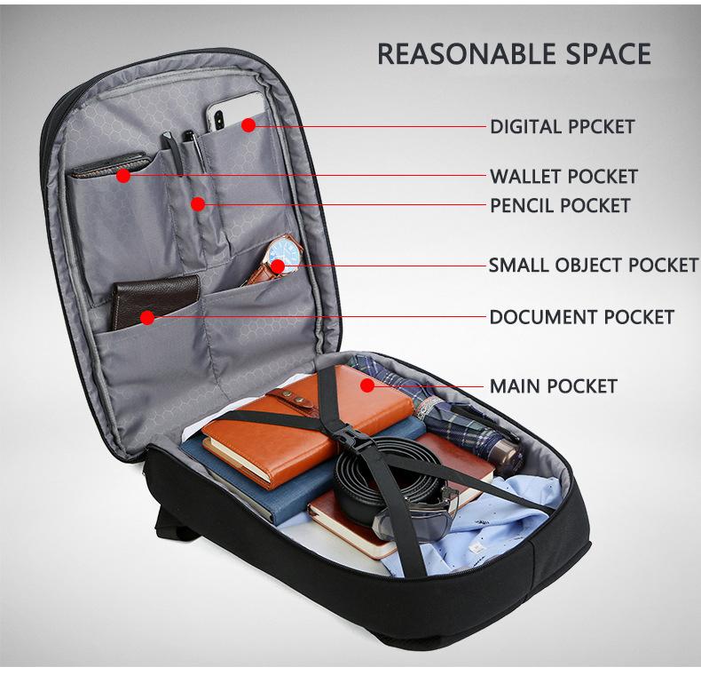 HTB1VTZTXInrK1RjSspkq6yuvXXap - Mens 15.6 inch Laptop Business Backpacks Waterproof Male Travel