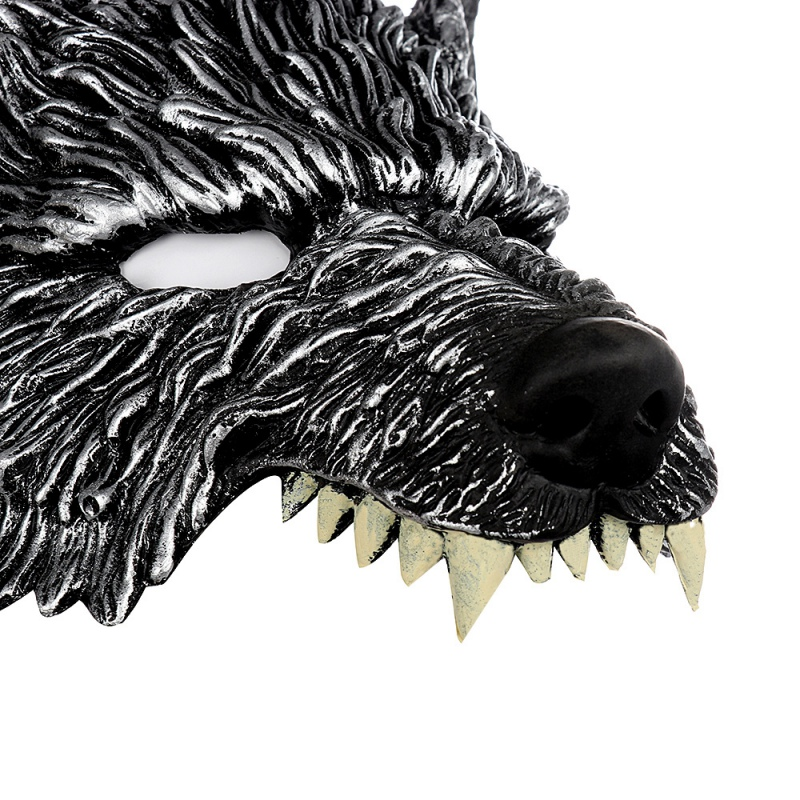 Halloween 3D Wolf Mask Party Masks Cosplay Horror Wolf Masque Halloween Party Decoration Accessories 3