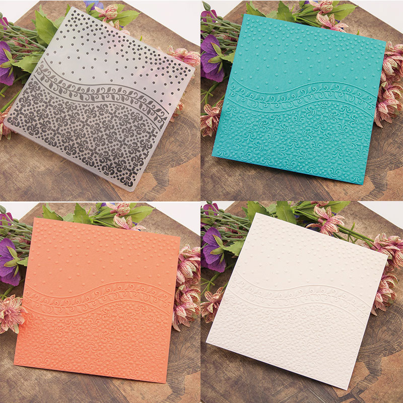 Vine Leaves Embossing Folder Stencils for DIY Scrapbooking Plastic Handmade Template Crafts Art Diary Decor Painting Tool Card