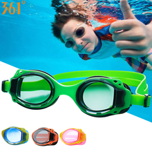 361 Kids Swimming Glasses UV Protection Pool Swimming Goggles for Children Swim Eyewear with Case Anti Fog Water Swim Goggles 2019 kids swimming goggles for children water swimming glasses sports professional adjustable waterproof swim goggles glasses