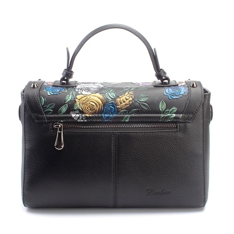 Marke Frauen Tote Umhängetaschen Handtaschen Leder Aus Banlear Echtem Vintage HqrvpnzH