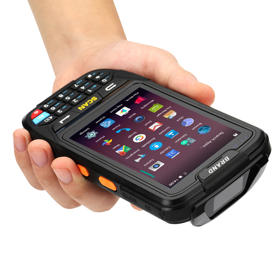 PL-40L IP65 Scanner PDA Industrial Robusto Armazém