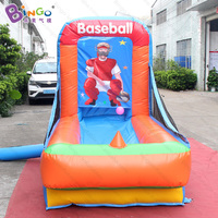 High quality 1.3x2.5x2 meters Inflatable baseball games PVC material inflatable carnival games for adults and children toys