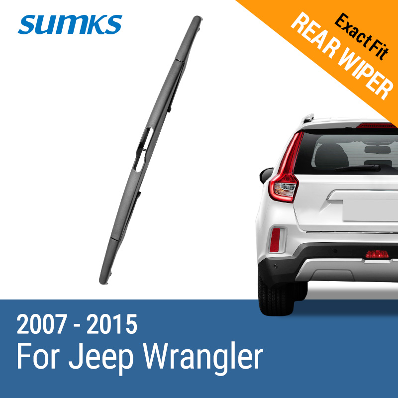 Sumks Rear Wiper Blade For Jeep Wrangler 2007 2008 2009 2010 2011 2012 2013 2014 2015 Wiper Blade Rear Wiper Bladerear Wiper Aliexpress