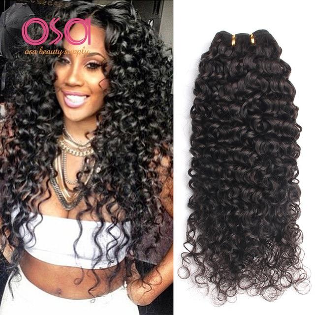 3 Bundles Brazilian Virgin Hair Deep Curly Brazilian Hair Deep Wave