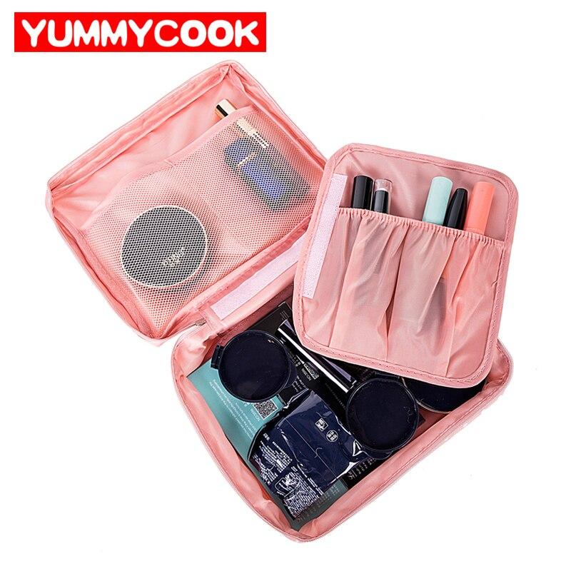 Для женщин Путешествия организации Красота Косметика Make up хранения милые леди мыть су ...
