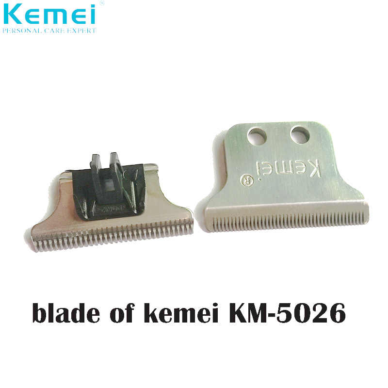 Kemei 5026 Replacement Blade Hair Clipper Blade Barber Cutter Head For Electric Hair Trimmer Clipper Cutting Machine KM-5026