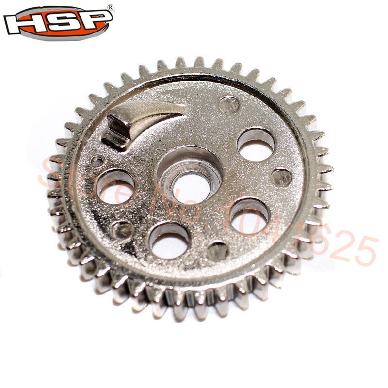 Steel HSP 06033 Metal Spur Gear (42T) 1/10 Upgrade Parts for RC Model Car Off Road Buggy Backwash 94166 hsp 1 10 rc 1 10 car off road on road truck buggy metal motor gear spare parts rc parts 11119 17t 11120 18t 11153 11173 gears