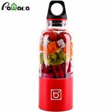 Портативный соковыжималка чашки USB Перезаряжаемые Электрический Автоматической Bingo Бенко овощи фрукты сок блендер миксер Maker бутылки чашки 500 мл
