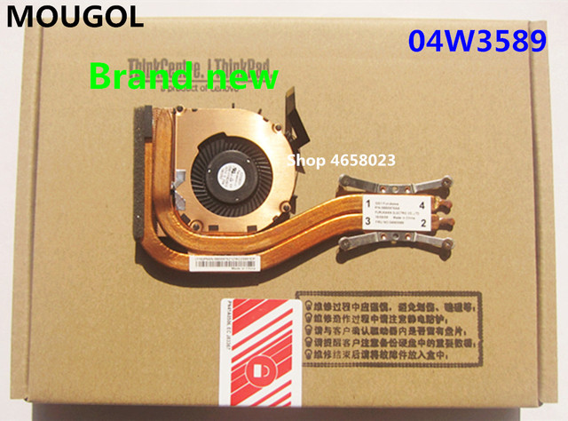 US $22 36 14% OFF|MOUGOL New Original for Lenovo ThinkPad X1 Carbon 1st Gen  1 MT 34XX Heatsink CPU Cooler Cooling Fan 04W3589 0B55975AA-in Fans &