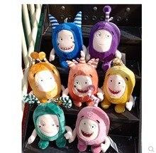 35cm Oddbods 7 Colors Plush Toy Super cute Stuffed Doll cartoon soft doll for children birthday gift free shipping free shipping 45cm cartoon the muppets kermit frog plush toys soft boy doll for children birthday gift