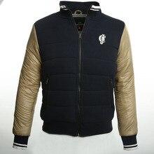 2017 Европейских И Американских Улице С Зимняя Куртка Мужчины Куртка Jaqueta Masculina Inverno