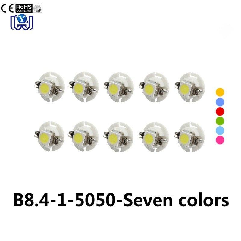 1 шт. B8.4 1 LED 5050 Tableau de bord инструмент Панель света ампулы 12 В Камион де VOIT ...
