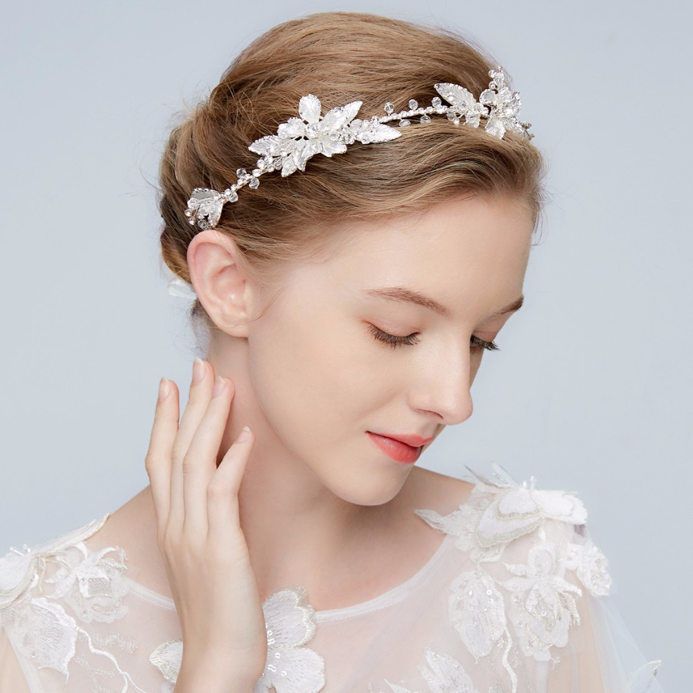 Wedding Headpiece For 2018: Aliexpress.com : Buy High Quality Crystal And Flower