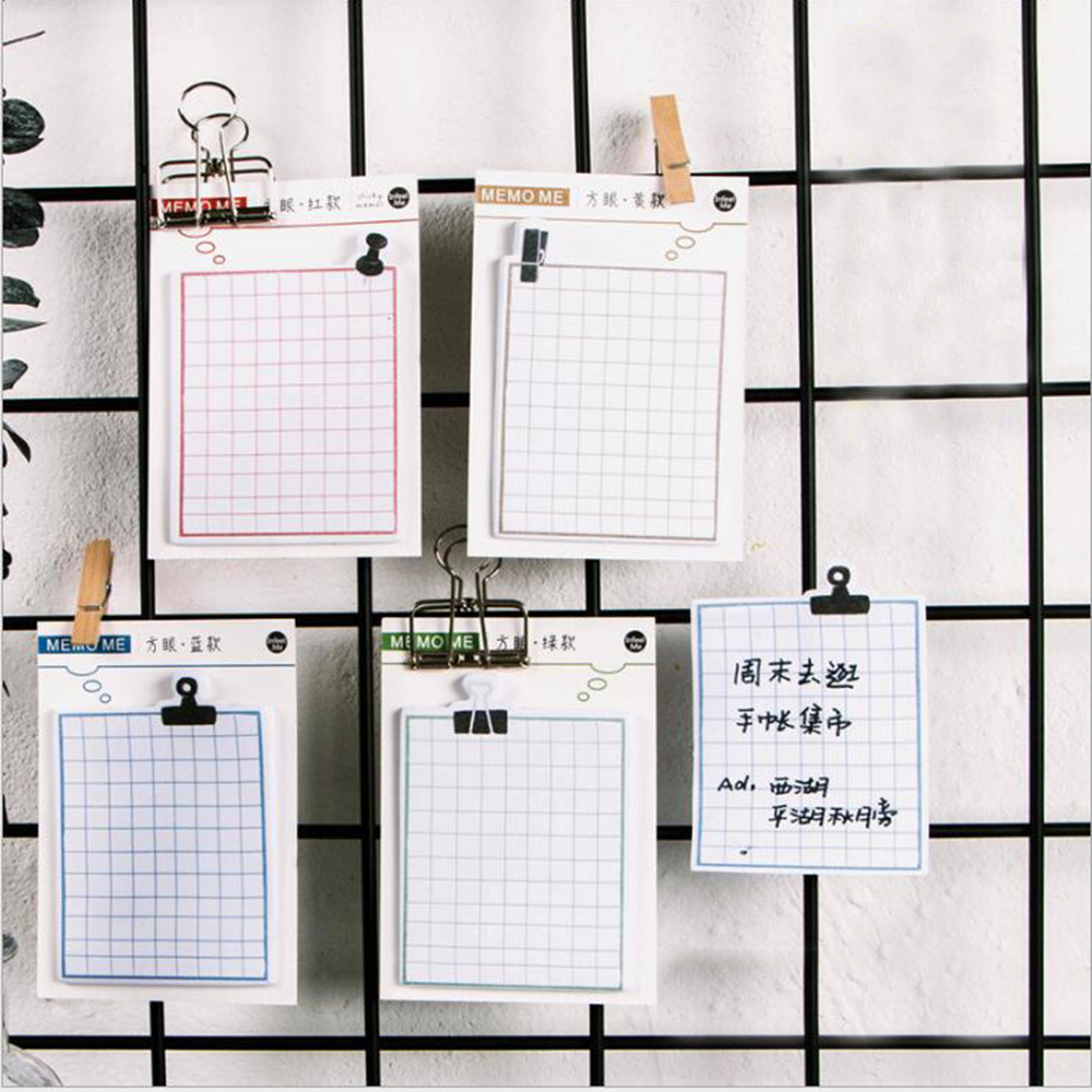 Creative Grid Paper Memo Pads Daily Index Message Schedule Post-it Sticky Notes Note Plan Mark Stationery Supply Notepads 150 page creative onion shaped memo note pads