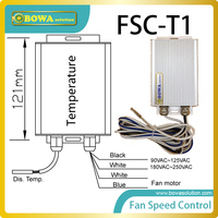 Controle de velocidade do ventilador do condensador drived por condensação temperatura reduzir o ruído e estável estado de pressões sob diferentes condições climáticas|control ic|control toy|fan motor speed control -