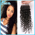 Virgin Malaysian Wet And Wavy Closure Bleached Knots, 7A Unprocessed Human Malaysian Water Wave Closure Nice Swiss Lace Closures