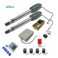 IP55 Galo for heavy door oper leaf dual automatic electrical swing gate opener for home automation DC24V/AC110V/AC220V 400kg