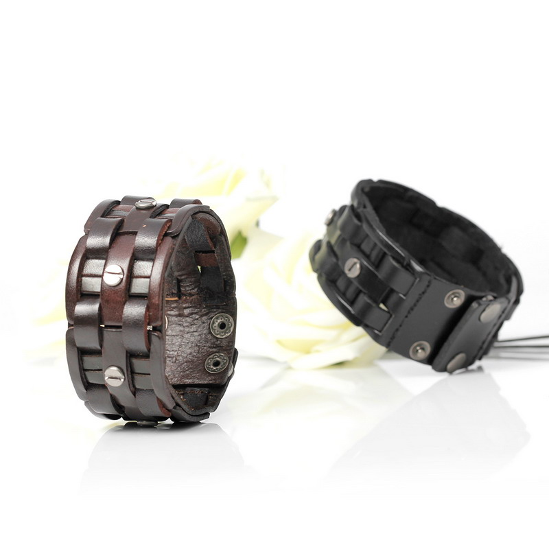2019 New Fashion Handgewebte Bandage Charm Herrenarmbänder Beliebte - Modeschmuck - Foto 4