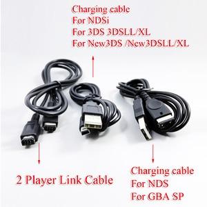 Image 1 - 1.2m/120cm cabo de carga para nintendo novo 3ds 2ds ndsi xl ll gba sp nds cabo de carregamento de energia cabo de carga usb cabo de cabo para ndsi