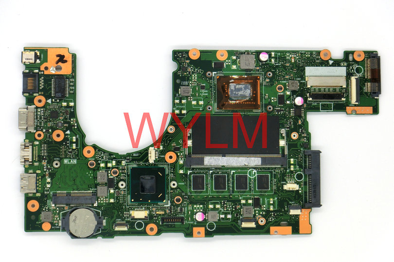 FREE SHIPPING original P500CA laptop motherboard main board mainboard REV 2.0 WITH SR0XL i5-3337 CPU 100% Tested Working