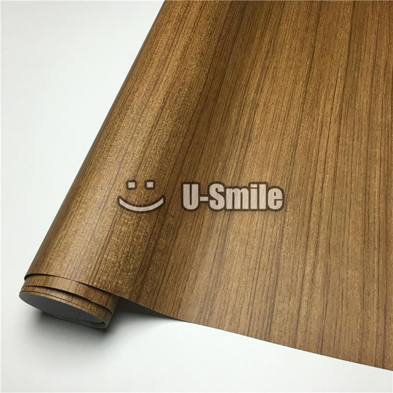 Adhesivo de vinilo de grano de madera de acacia de madera - Laminas de madera para pared ...