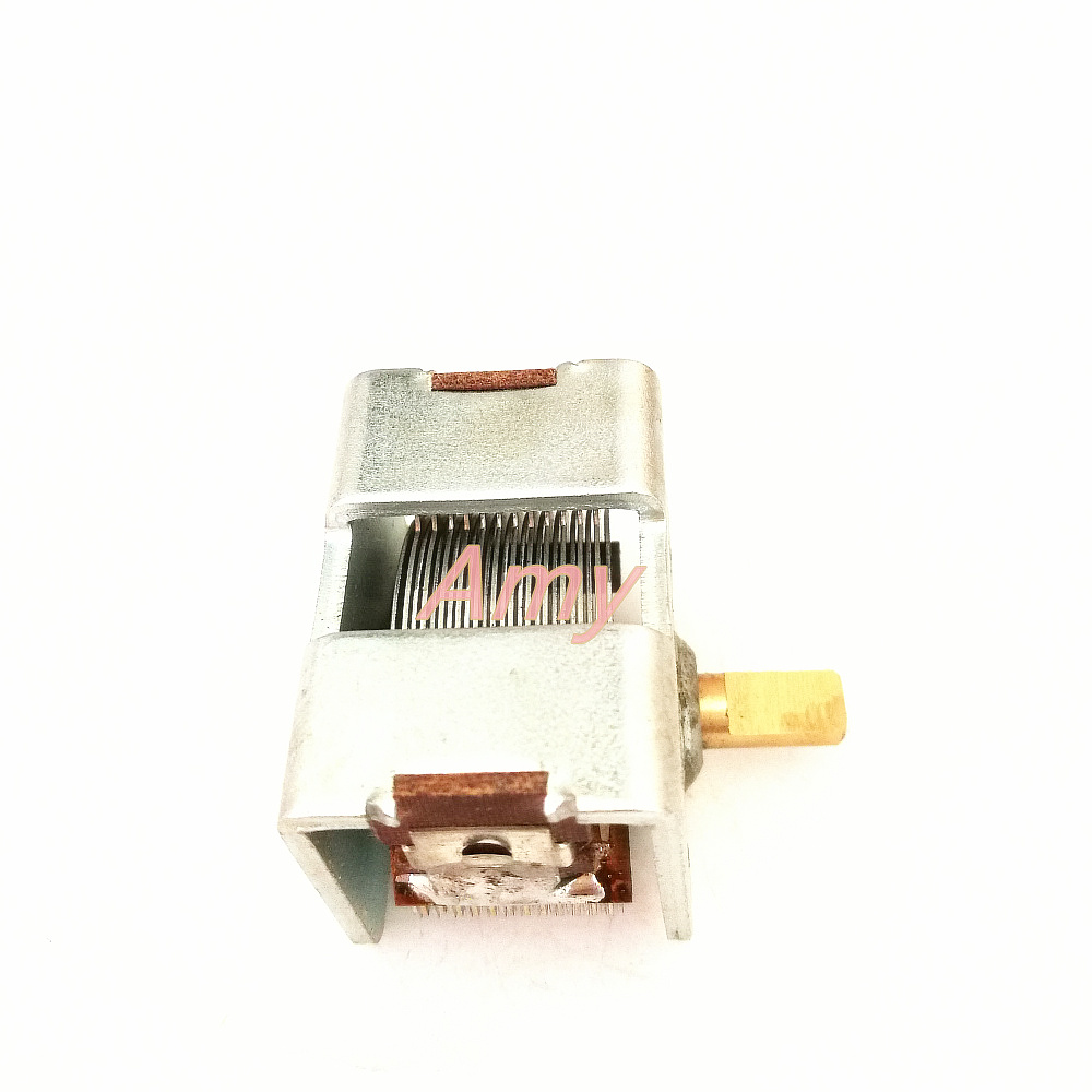 single joint air dielectric variable capacitor 12PF to 365pf And hats w Button