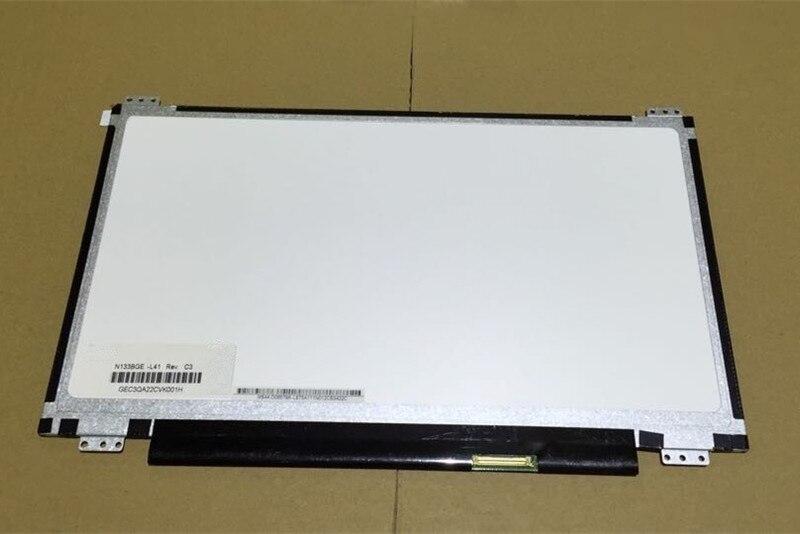 FOR ASUS S300C laptop  LCD screen N133BGE-L41 Rev.C3  ,The 4 bracket 12 screw holes