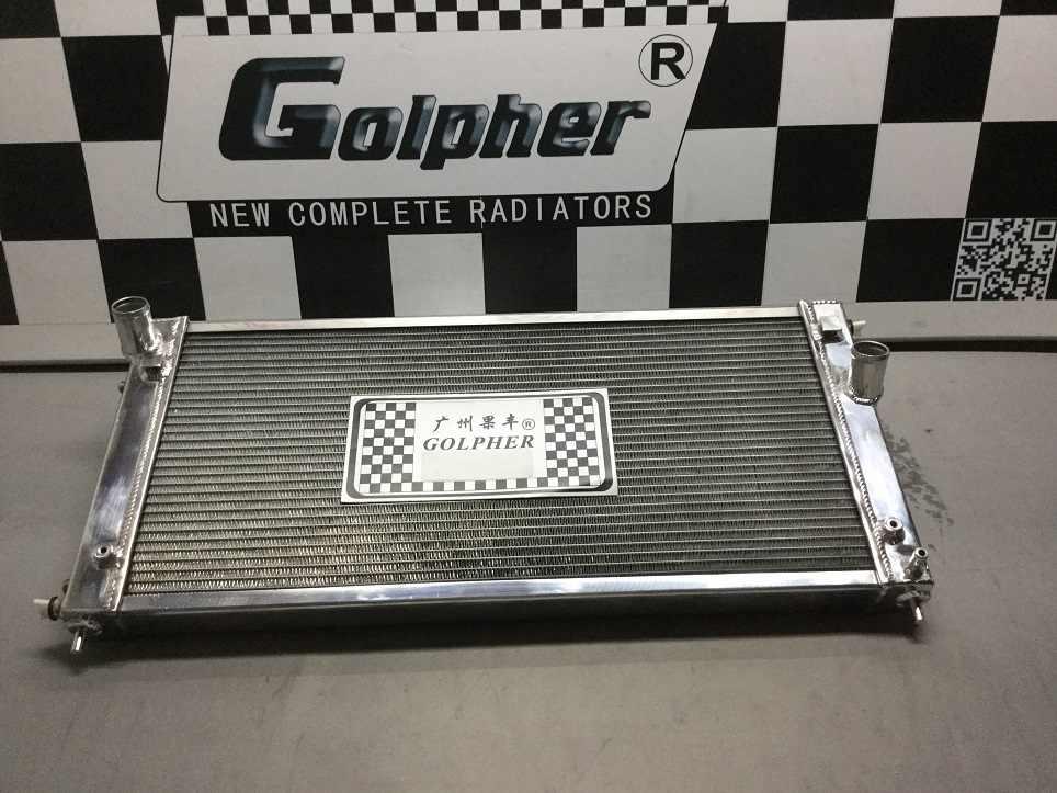 Golpher高品質カスタムメイドアルミラジエーターセリカZZT230 99-06