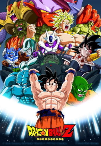 Dragon Ball Z Hot Japanese cartoon poster print decoration 50 70cm. Z Modern Furniture Promotion Shop for Promotional Z Modern