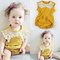 Newborn Infant Kids Baby Girl Cotton Bodysuit Clothes Outfit Set