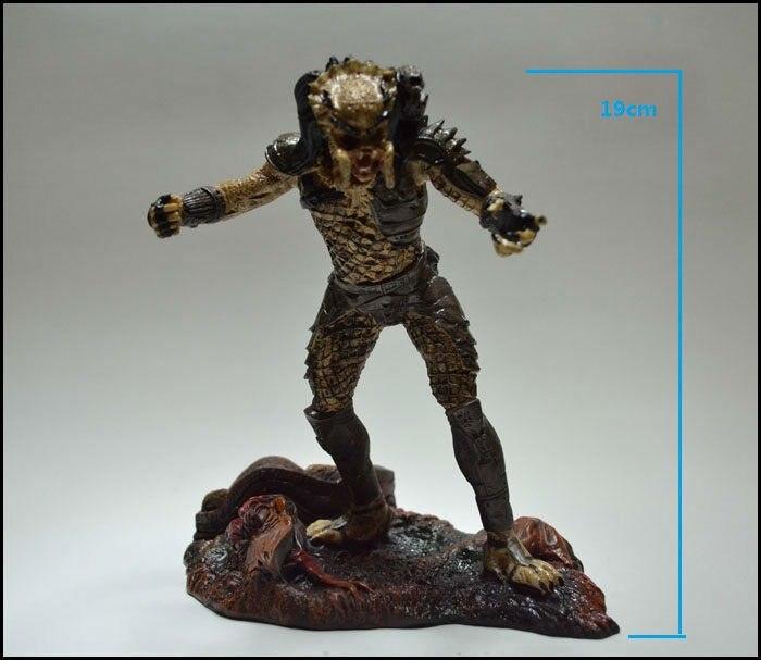NECA Toys AVP: poupée Alien Vs prédateur la figurine d'action prédateur en résine Figurine19cm/7.5 pouces de hauteur